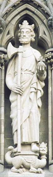 St Olav at Nidaros Cathedral, Trondheim